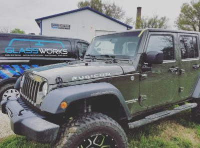 Wrangler Windshield - Glassworks